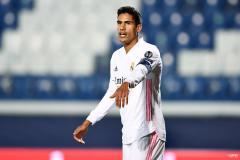 Real Madrid's Raphael Varane is wanted by Man Utd