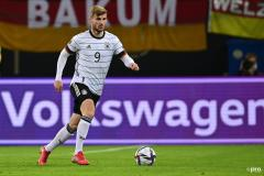 Timo Werner playing for Germany
