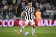 Matthijs de Ligt in action for Juventus.