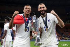 Kylian Mbappe, Karim Benzema, France, Nations League