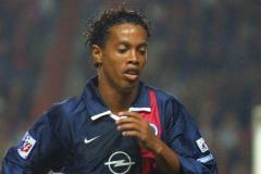 Ronaldinho at PSG