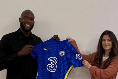 New Chelsea signing Romelu Lukaku