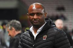 Patrick Vieira sacked by Nice following five straight defeats
