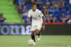 Chelsea transfer target Jules Kounde playing for Sevilla in La Liga