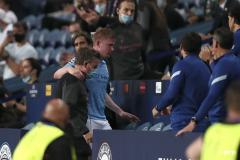 Kevin de Bruyne injured