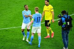 Kevin De Bruyne and Raheem Sterling, Man City