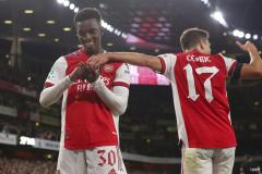 Eddie Nketiah, Arsenal, 2021/22