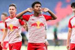 Red Bull Salzburg striker karim adeyemi