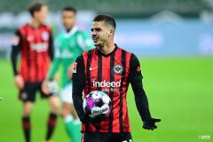 Man Utd target Andre Silva enhances his reputation even in Frankfurt loss