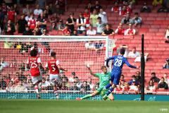 Kai Havertz, Chelsea v Arsenal, Friendly, summer 2021