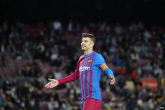 Gerard Pique, Barcelona, Primera Division, 2021/22
