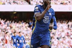 Romelu Lukaku, Arsenal v Chelsea, 2021-22