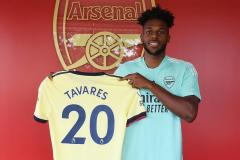 New Arsenal signing Nuno Tavares after joining from Benfica