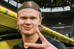 A German Cup and 28 goals – Why Erling Haaland seems perfectly content at Borussia Dortmund