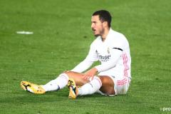 How many Real Madrid games has Eden Hazard missed through injury?
