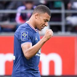 Kylian Mbappe, Reims v PSG, 2021-22
