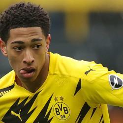 Dortmund midfielder Jude Bellingham
