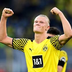 Borussia Dortmund striker Erling Haaland is wanted by Europe's top clubs