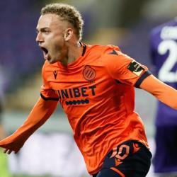 Club Brugge winger Noa Lang