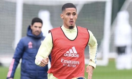 What happened to William Saliba at Arsenal?