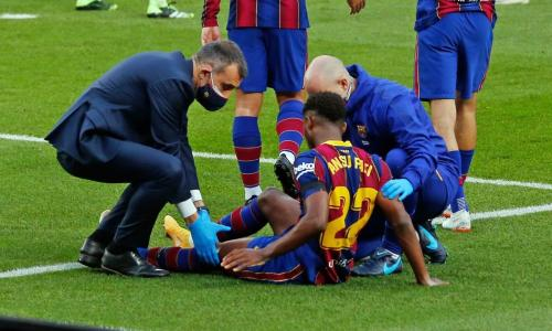 The transfer chain reaction started by Ansu Fati's injury