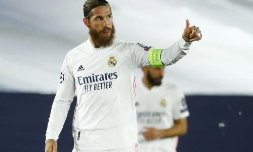Sergio Ramos, Real Madrid, La Liga 2020/21
