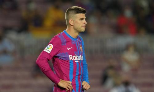 Gerard Pique, Barcelona v Real Sociedad