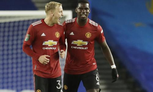 Van de Beek's lack of impact at Man Utd leaves Paul Pogba with bargaining power
