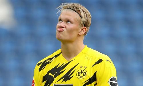 Haaland wants silerware before he leaves Borussia Dortmund