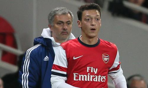 Mourinho: 'Who told Ozil Tottenham would want to sign him?'