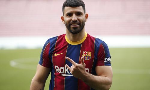 Sergio Aguero, Barcelona, 2021-22