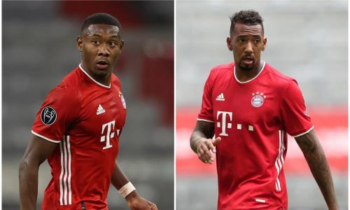 Are Alaba and Boateng set to leave Bayern this season?