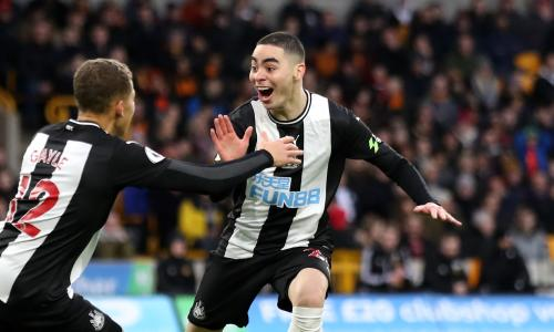 Atletico want Newcastle star Miguel Almiron, claims agent
