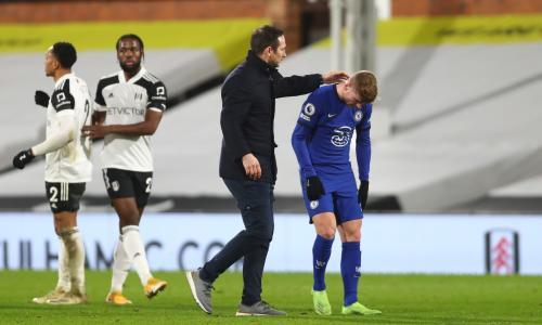 Lampard on Werner's shocking miss: Get back on the training pitch