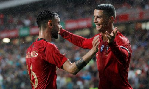 'No one can win alone' – Fernandes offers his backing to under fire Ronaldo