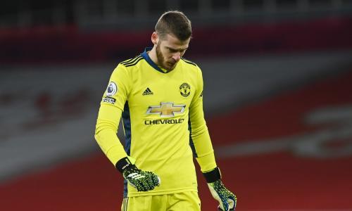 Solskjaer suggests De Gea is close to losing Man Utd place