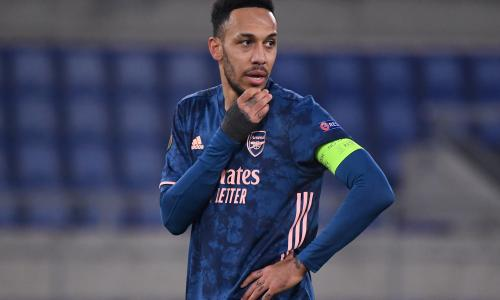 Aubameyang punished again by Arsenal for disciplinary reasons