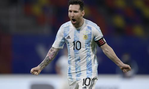 Lionel Messi Argentina 2021