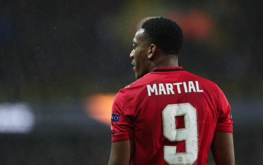 Anthony Martial has been put up for sale by Man Utd