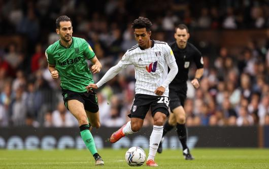 Fulham's Fabio Carvalho, a target for Real Madrid
