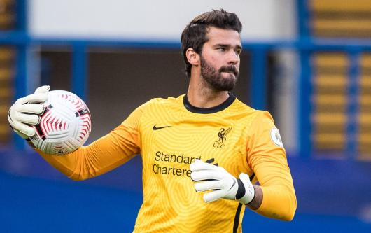 Alisson reveals transfer plans after Liverpool