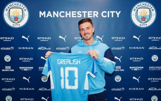Jack Grealish, Manchester City, 2021/22