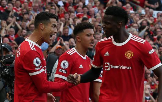Cristiano Ronaldo, Paul Pogba, Manchester United