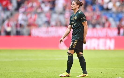 Bayern Munich midfielder Marcel Sabitzer