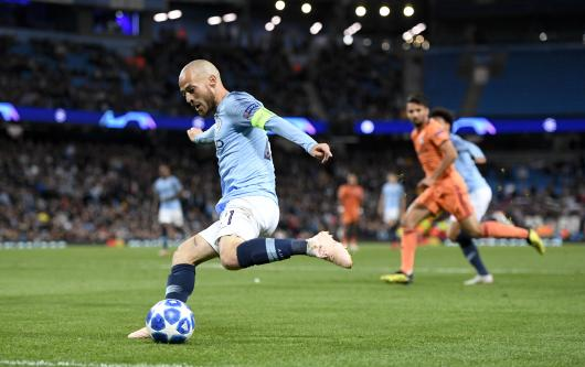 David Silva at Man City