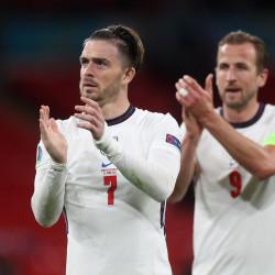 Harry Kane and Jack Grealish, Euro 2020 final