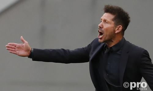 Atletico Madrid head coach Diego Simeone