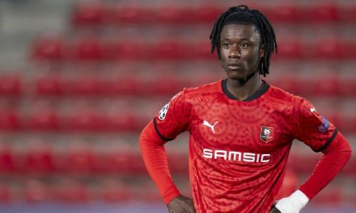 Man Utd target Eduardo Camavinga playing for Rennes, Ligue 1 2020/21