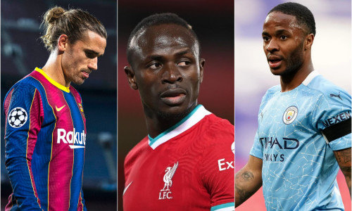 Griezmann, Sterling and Mane: The worst Champions League Team of the season