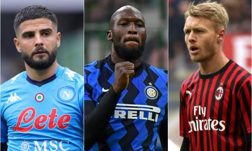 Serie A Team of the Season, featuring Lukaku, Insigne, Barella and Donnarumma